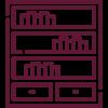 Библиотеки и стеллажи