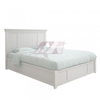 Кровать с жесткой спинкой с подъемным ортопедическим основанием prinston PR202 ПМ