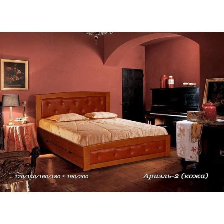 Кровать Ариэль (Кожа)
