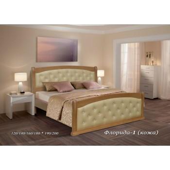 Кровать Флорида (Кожа)