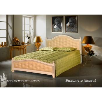 Кровать Вилия (Кожа)