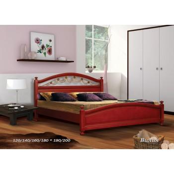 Кровать Вилия (С художественной ковкой)